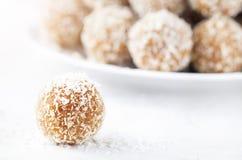 Indian sweets Besan Ladoo Royalty Free Stock Photo