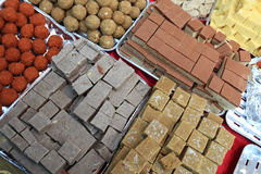 Indian sweets Royalty Free Stock Photography