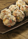 Indian sweets dryfruit and cocnut ladoo Royalty Free Stock Image