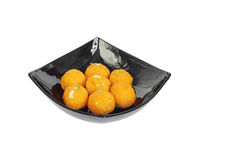 Indian sweets ladoo. Indian sweets served on festivals like diwali, holi stock images