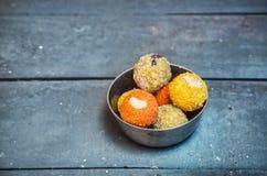 Indian sweets ladu Stock Photos