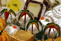 Indian Sweets - Mithai Royalty Free Stock Photos
