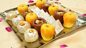Indian Sweets - Mithai Stock Image