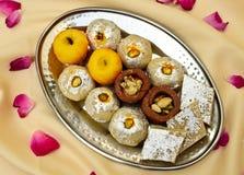 Indian Sweets - Mithai Stock Photo
