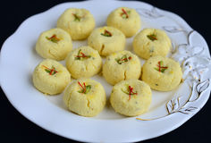 Indian Sweets - Peda Stock Image