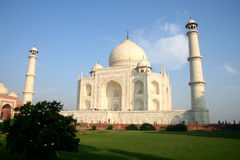 Indian Taj Mahal. It is India's famous buildings, is India's landmark building Stock Photos