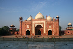 Indian Taj Mahal. It is India's famous buildings, is India's landmark building Royalty Free Stock Photography