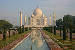 Indian Taj Mahal. It is India's famous buildings, is India's landmark building Royalty Free Stock Images