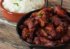 Indian tandoori style chicken Royalty Free Stock Image