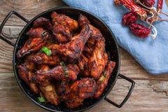 Indian tandoori style chicken Stock Photos