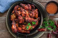 Indian tandoori style chicken Royalty Free Stock Images