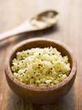 Indian tangy cabbage salad. Close up of a bowl of indian tangy cabbage salad Royalty Free Stock Photo