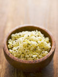 Indian tangy cabbage salad. Close up of a bowl of indian tangy cabbage salad Royalty Free Stock Photography