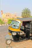 Indian taxi, local transport. Jaipur India Nov 14, 2012: Indian taxi local transport Royalty Free Stock Photography