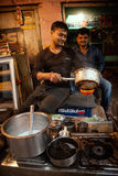 Indian tea shop Stock Images