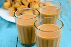 Indian Tea. With spices .Indian masala chai Stock Images