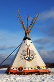 Indian tee-pee. Classic native Indian tee pee royalty free stock image