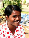 Indian Teen. A poor Indian teenager smiling Stock Photography