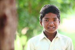 Indian teen boy Stock Photo