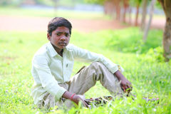 Indian teen boy Royalty Free Stock Photo