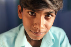Indian teen boy portrait Stock Photography