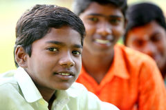Indian teen boys Stock Photos