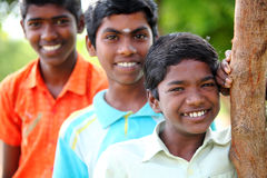 Indian teen boys Stock Image
