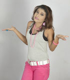 Indian teen model Stock Photo