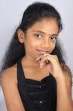 Indian Teenage Girl Stock Photo