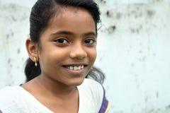Indian Teenage Girl. Smiling Indian Teenage Cute Girl stock photo