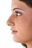 Indian teenage girl facing sidewards Stock Photos