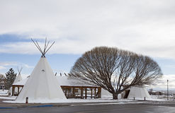Indian Teepee Stock Image