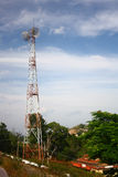 Indian Telecommunications Tower Royalty Free Stock Photo