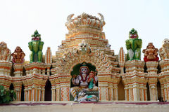 Indian temple. The bull temple in bangalore, south india (isolated stock photography