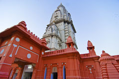 Indian Temple. A Shiva Temple, the tallest Hindu temple in India also known as Vishwanath Temple Stock Images