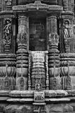 Indian temple architecture Royalty Free Stock Photo