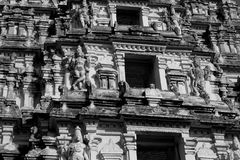 Indian temple architecture Royalty Free Stock Images