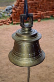 Indian temple bell Royalty Free Stock Images