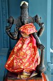 Tamil culture god Statue. Indian temple closeup shot on tamil culture god Statue Royalty Free Stock Photos