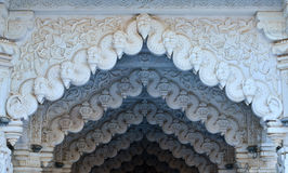 Indian temple Jain gujrat bhuj Royalty Free Stock Photos