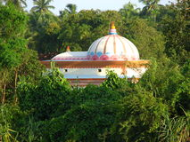 Indian temple in Jungle Stock Photo