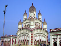 Indian temple in Kolkata. A view of the beautiful architecture of a temple in Kolkata (formerly Calcutta), India Stock Photo