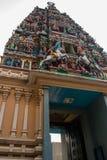 The Indian temple. Kuala Lumpur, Malaysia. Royalty Free Stock Photo
