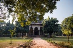 Indian temple. Lodi garden in Delhi Stock Images