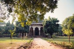 Indian temple. Lodi garden in Delhi Royalty Free Stock Photos