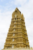 Indian Temple in Mysore Stock Photo