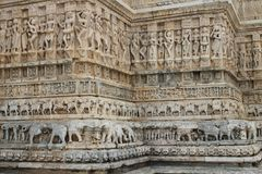 Indian temple. Old temple in Udaipur city Stock Image