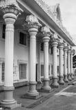 Indian Temple Pillars view Stock Photo