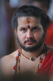 Indian Temple Priest Stock Photography