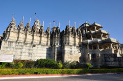 Indian temple Ranakpur royalty free stock image